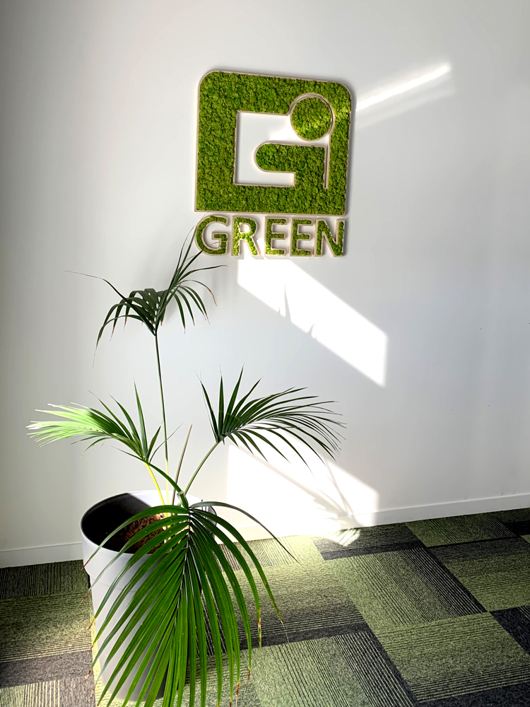 green interim logo vegetal chapelle des fougeretz nantes